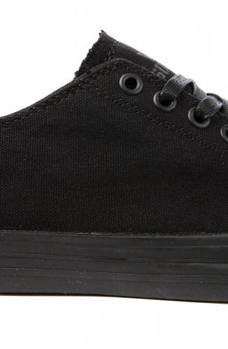 Мъжки Обувки SUPRA Thunder Low Black Canvas 101125  изображение 2