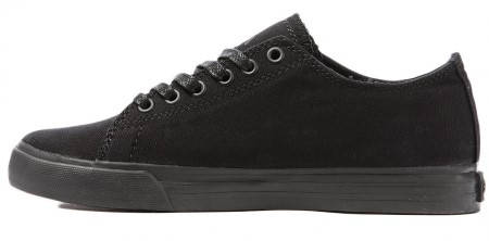 Мъжки Обувки SUPRA Thunder Low Black Canvas 101125  изображение 3