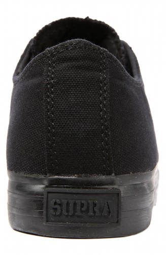 Мъжки Обувки SUPRA Thunder Low Black Canvas 101125  изображение 4
