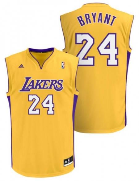Официален Екип NBA LOS ANGELES Kobe Bryant Adidas Jersey 101294