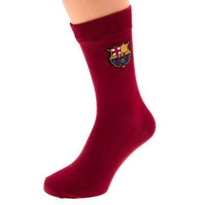 Чорапи BARCELONA Claret Socks 6-11 500414  изображение 3