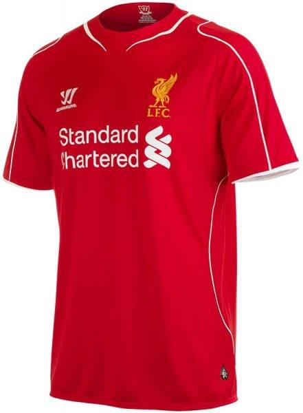 Официална Фланелка Ливърпул LIVERPOOL Mens Home Shirt 14-15 501070