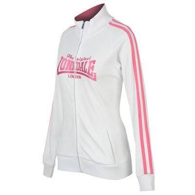 Дамско Горнище LONSDALE 2 Stripe Lock Zip Jacket Ladies 200101b 50227 изображение 2