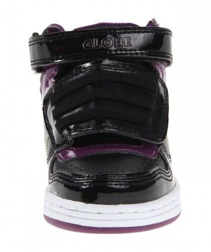 Бебешки Обувки GLOBE Superfly-Kids Velcro W13 300254 30302400303 - BLACK DARK PURPLE изображение 3