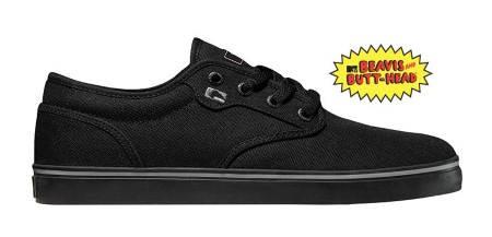 Мъжки Обувки GLOBE Motley Beavis and Butt-Head W13 100657a 30302400298 - BLACK BNB