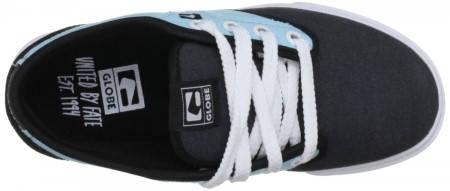 Детски Обувки GLOBE Motley Kids S13 300242 30302400272 - VINTAGE BLACK/SOFT BLUE изображение 8