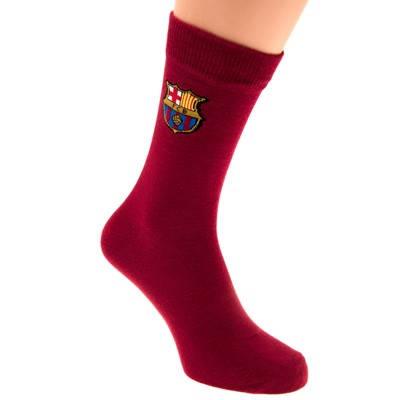 Чорапи BARCELONA Claret Socks 6-11 500414  изображение 2