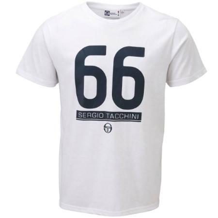 Мъжка Тениска SERGIO TACCHINI 66 Boca T-Shirt 101045b TTG01694VAR245-WHITE