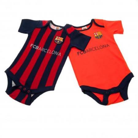 Бебешки Дрехи BARCELONA 2 Pack Bodysuit 9-12 mths 500495a w60bdsbanve