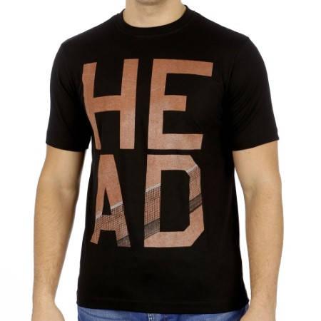 Мъжка Тениска HEAD Dart T-Shirt SS14 100823 DART T-SHIRT/811204 -BKRO изображение 5