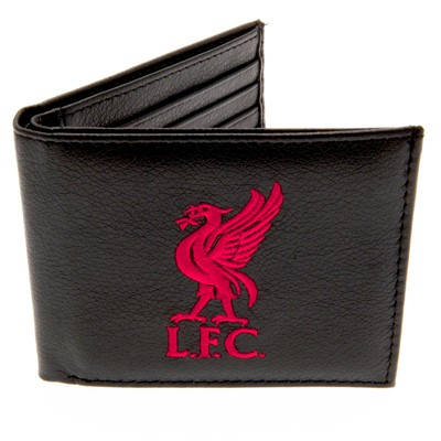 Портфейл LIVERPOOL Embroidered Leather Wallet 500166 l30ebwliv-3246 изображение 2