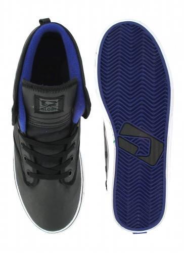 Мъжки Кецове GLOBE Motley Mid W13 100656a 30302400297 - BLACK ELECTRIC BLUE изображение 3
