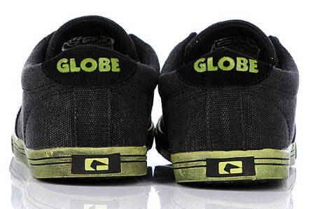 Мъжки Обувки GLOBE Lighthouse Slim S13 100326e 30302400276 - NIGHT/LIME изображение 4