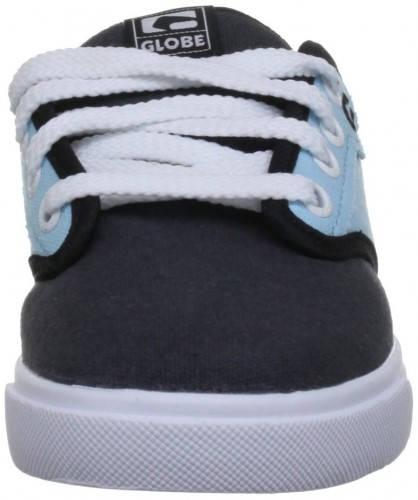 Детски Обувки GLOBE Motley Kids S13 300242 30302400272 - VINTAGE BLACK/SOFT BLUE изображение 3