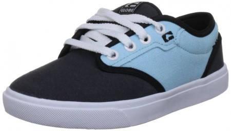 Детски Обувки GLOBE Motley Kids S13 300242 30302400272 - VINTAGE BLACK/SOFT BLUE изображение 2