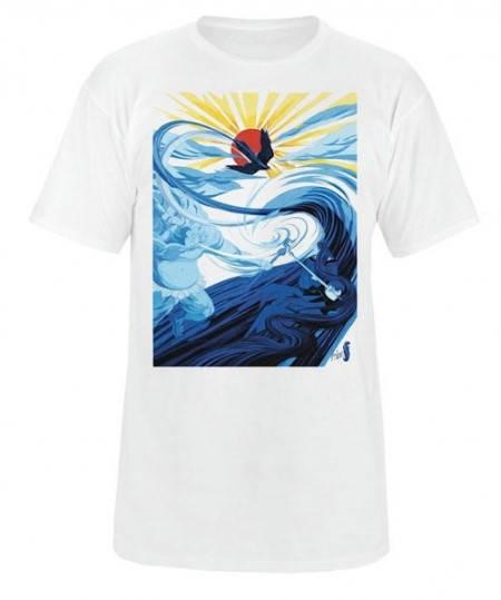 Мъжка Тениска DAKINE Behind The Clouds SS14 101033a 30308700707-WHITE