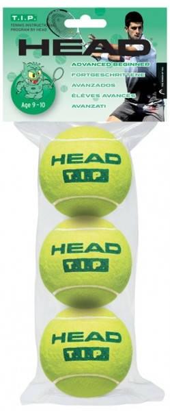 Тенис Топки HEAD T.I.P. Green Age 9-10 401102 TIP GREEN AGE 9-10/578233