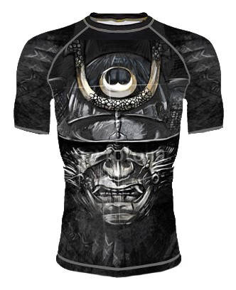 Мъжки Рашгард DOMINATOR Rashguard Black Mask 101312 15755