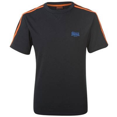 Мъжка Тениска LONSDALE 2 Stripes Crew T Shirt 100070c 130448