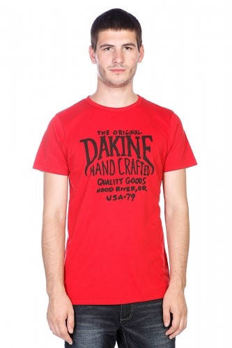 Мъжка Тениска DAKINE Hand Crafted SS14 101032 30308700709-VINTAGE RED изображение 2