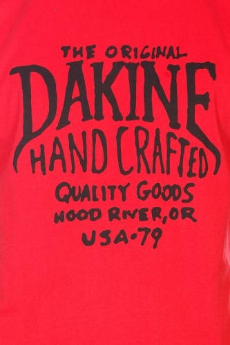 Мъжка Тениска DAKINE Hand Crafted SS14 101032 30308700709-VINTAGE RED изображение 4