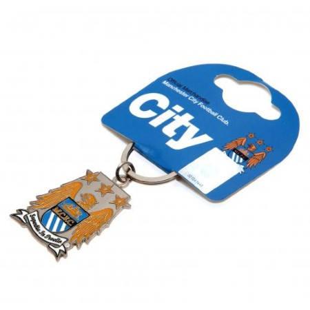 Ключодържател MANCHESTER CITY Crest Keyring 500949  изображение 2