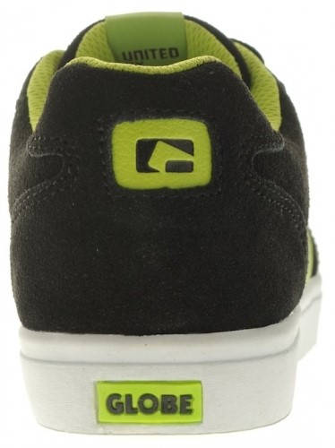 Детски Обувки GLOBE Encore Kids S13 300103c 30302400270 - BLACK /LIME изображение 6