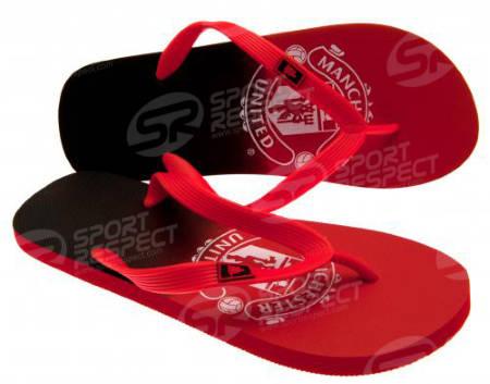 Джапанки MANCHESTER UNITED Flip Flops Size 7 501527 p35flimufdc