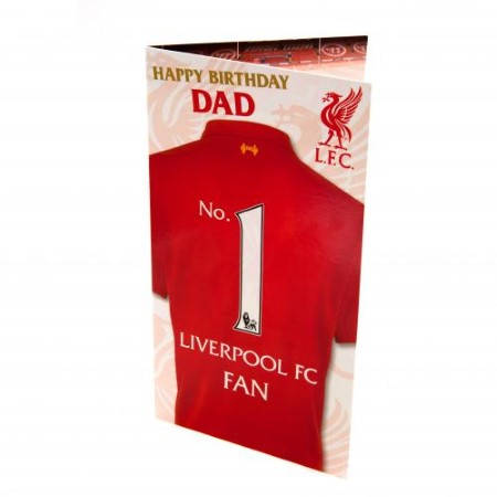 Картичка LIVERPOOL Birthday Card 500736a z01carlvda изображение 3