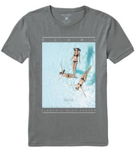 Мъжка Тениска GLOBE Heaven Tee SS14 100768 30308700697 - Frost Grey