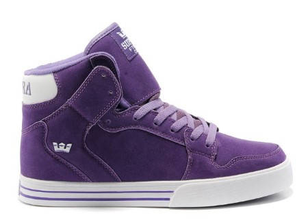 Мъжки Кецове SUPRA Vaider Purple White 101129