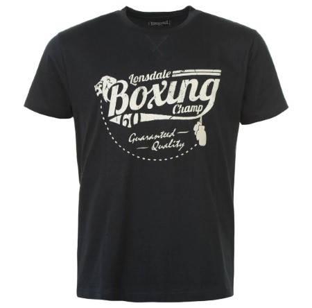 Мъжка Тениска LONSDALE Boxing T-Shirt 100546 13011