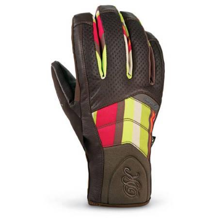 Ски/Сноуборд Ръкавици DAKINE Targa Glove 400353a 30307100025 - BROWN/FALL STRIPE