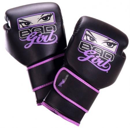 Дамски Боксови Ръкавици BAD GIRL Leather Boxing Gloves 401689