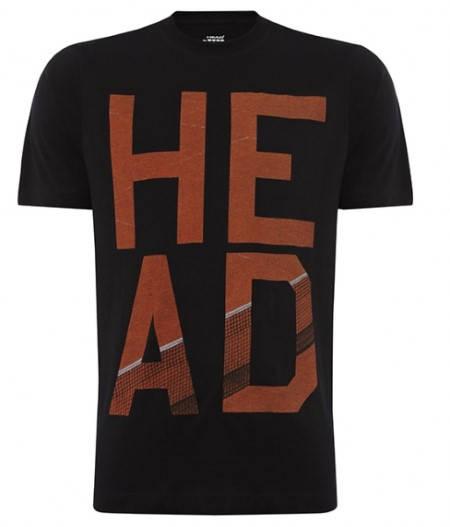 Мъжка Тениска HEAD Dart T-Shirt SS14 100823 DART T-SHIRT/811204 -BKRO