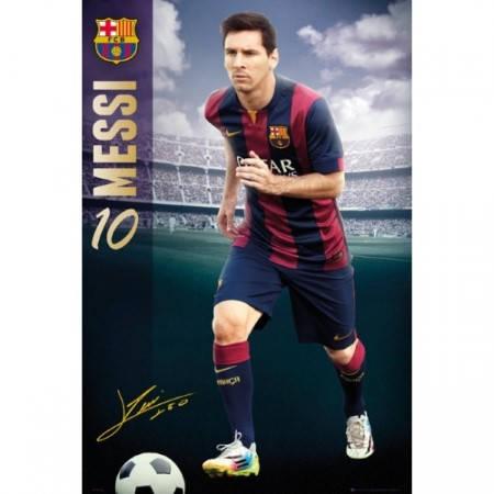 Плакат BARCELONA Poster Messi 7 501320 b20posba7