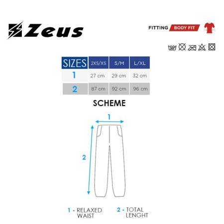 Мъжки Клин ZEUS Pantalone Total Nero 506429 Pantalone Total изображение 4
