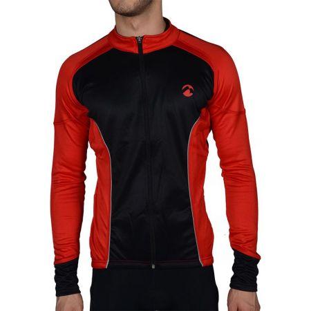 Мъжки Суичър MORE MILE Piu Miglia Thermal Long Sleeve Mens Cycling Jersey 508292 PM2213