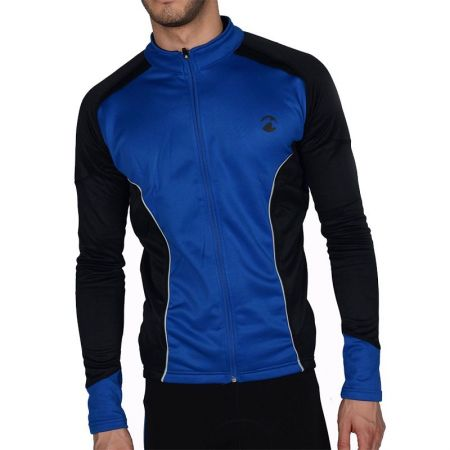 Мъжки Суичър MORE MILE Piu Miglia Thermal Long Sleeve Mens Cycling Jersey 508293  PM2215