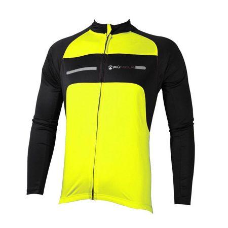 Мъжки Суичър За Колоездене MORE MILE Long Sleeve Cycling Jersey 508528  PM1714