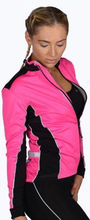 Дамско Яке За Колоездене MORE MILE Bari Soft Shell Ladies Cycling Jacket 508625 PM2230 изображение 3
