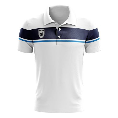 Мъжка Тениска ZEUS Polo Achille Bianco/Royal 506706 Polo Achille