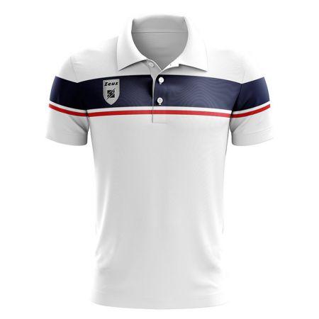 Детска Тениска ZEUS Polo Achille Bianco/Rosso 506711 Polo Achille