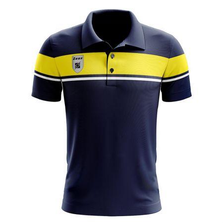 Детска Тениска ZEUS Polo Achille Blu/Giallo 506713 Polo Achille