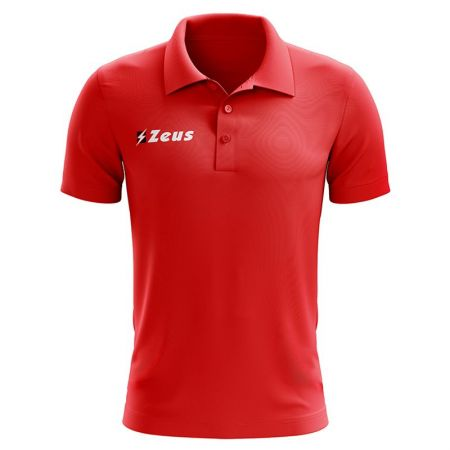 Детска Тениска ZEUS Polo Basic Rosso