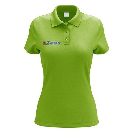Дамска Тениска ZEUS Polo Promo Woman Verde fluo 511366 Polo Promo Woman