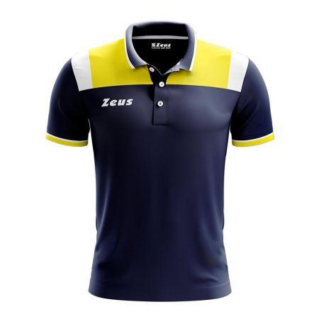 Детска Тениска ZEUS Polo Vesuvio Blu/Giallo 512893 Polo Vesuvio