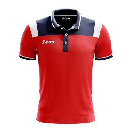 Детска Тениска ZEUS Polo Vesuvio Blu/Rosso 512894 Polo Vesuvio