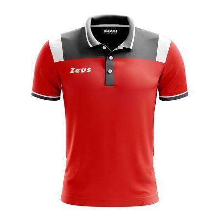 Детска Тениска ZEUS Polo Vesuvio Rosso/Dark Grey 512896 Polo Vesuvio