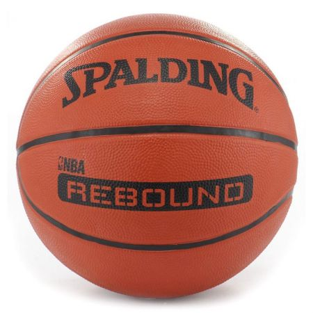 Баскетболна Топка SPALDING NBA Rebound Rubber Basketball 400976